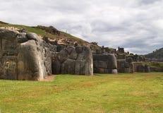 Inca fortress of Sacsayhuaman Royalty Free Stock Image