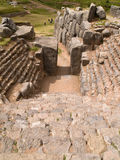 Inca fortress of Sacsayhuaman. Cuzco, Peru Royalty Free Stock Images