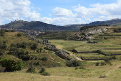 The Inca Fortress Sacsayhuaman Royalty Free Stock Image