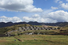 The Inca Fortress Sacsayhuaman Royalty Free Stock Photography