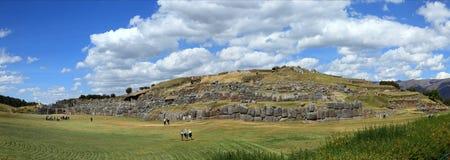 The Inca Fortress Sacsayhuaman Royalty Free Stock Photo