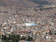 Inca Garcilaso de la Vega Stadium Cusco Peru Stockfoto