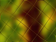 Inca Gold glass. Frosted glass is translucent gold-colored Inca Royalty Free Stock Photo