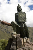 Inca King - Ollantaytambo - Peru Royalty Free Stock Photos