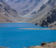 Inca Lake Portillo Chile arkivfoton