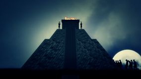 Inca Machu Picchu Human Sacrifice dans des civilisations antiques banque de vidéos