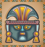 Inca Mask royalty free illustration