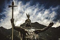 Inca Pachacutec fotografering för bildbyråer