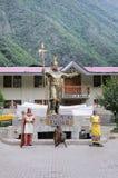 Inca Pachacutec statue. Royalty Free Stock Photo