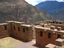 Inca Ruin. Detail of Incan Ruin, Peru Stock Images