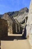 Inca Ruins antico di Machu Pichu Fotografie Stock