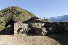 Inca ruins of Choquequirao, Peru. Stock Image