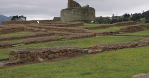 Ingapirca archeological ruins in Ecuador