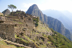 Inca ruins  Machu Picchu, Peru Royalty Free Stock Photo