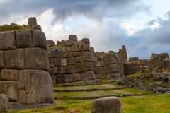 Inca Ruins. Near Cusco, Peru Stock Photography
