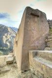 Inca ruins of Ollantaytambo. Ancient Inca ruins of Ollantaytambo, Peru Royalty Free Stock Photos