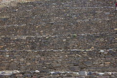 Inca Ruins in Ollantaytambo Peru Royalty Free Stock Photos