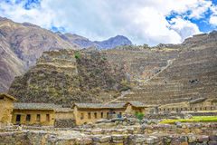 Inca ruins in Peru Royalty Free Stock Photography