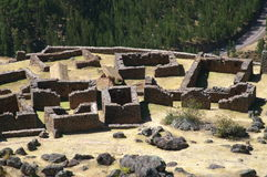 Inca ruins in Pisac Royalty Free Stock Photo