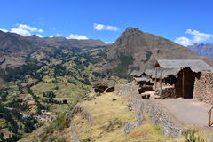 Inca ruins of Pisac, Peru Stock Photography