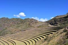 Inca ruins of Pisac, Peru Royalty Free Stock Photos