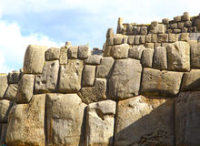 Inca Ruins - Saqsaywaman, Peru, South America. Royalty Free Stock Photo