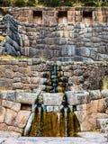 Inca's bath - Tambomachay Stock Image