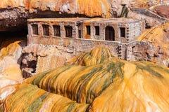 Inca& x27; s-bro nära Mendoza royaltyfria bilder