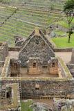 Inca's house  of Machu Picchu Royalty Free Stock Photo