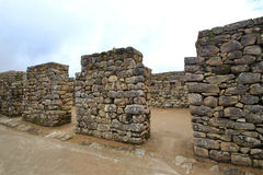 Inca's temple  of Machu Picchu Royalty Free Stock Photography