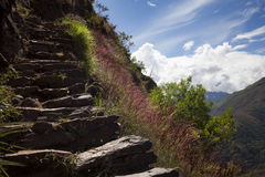 Inca's way Royalty Free Stock Images