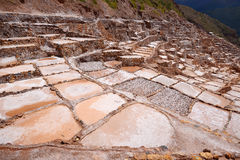 Inca salt farm Stock Photography