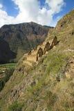 Inca Sorehouses, Perú. Pinkuylluna Fotografía de archivo