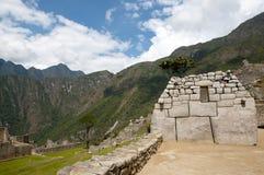 Inca Stone Bricks Construction - Machu Picchu - Peru royaltyfri fotografi