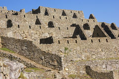 Inca stone house, without roof, Stock Photo