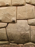Inca stone wall Royalty Free Stock Image