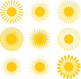 Inca sun Stock Photo
