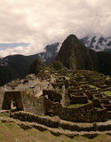 Inca Temple City Machu Picchu, Peru Stock Photo
