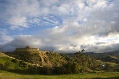 Inca temple Ingapirca Royalty Free Stock Image