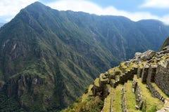 Inca terraces Stock Photo