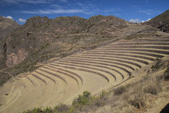 Inca terraces Stock Images