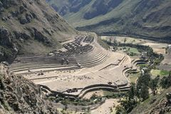 The Inca Trail Stock Photo
