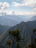 Inca Trail Mountain Valley Royalty Free Stock Image