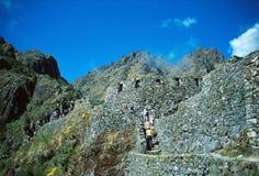 Inca Trail to Machu Picchu Royalty Free Stock Photography