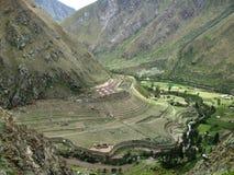 Inca trek Stock Image