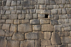 Inca Wall Royalty Free Stock Photo