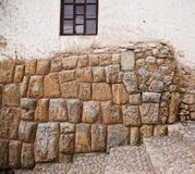 Inca wall Stock Image