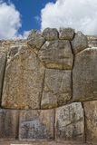 Inca wall Royalty Free Stock Photos