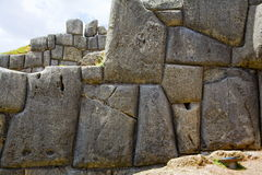 Inca wall Royalty Free Stock Photography