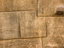 Inca wall in Cuzco Stock Photo